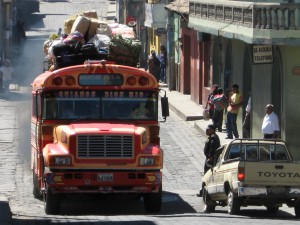 Chicken Bus - Chichicastenango