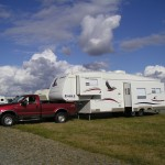 Fulltime RVing with a truck and fifth wheel