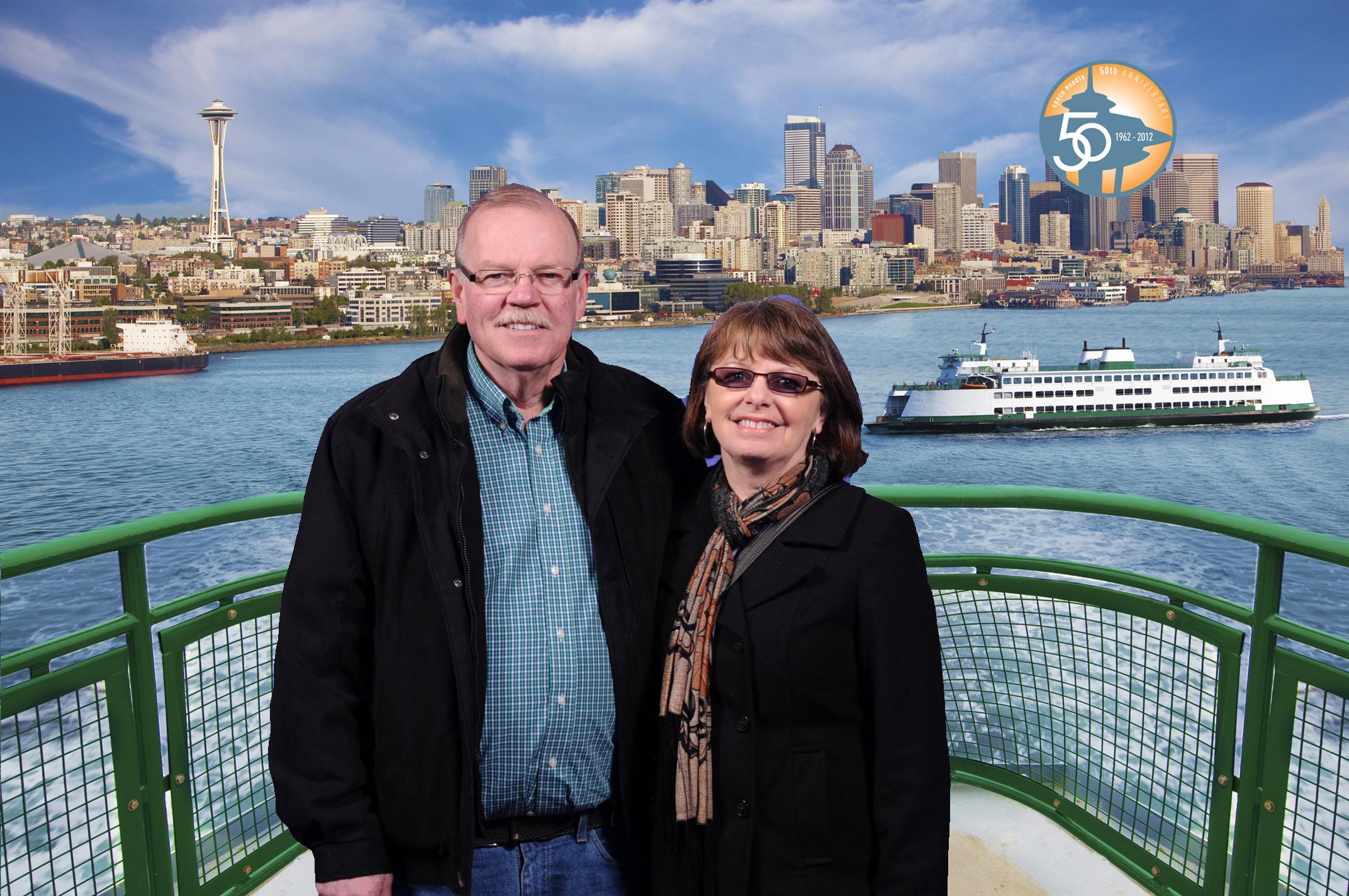Barry & Carol Ann in Seattle