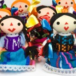 group of otomi dolls - shopping in Mexico