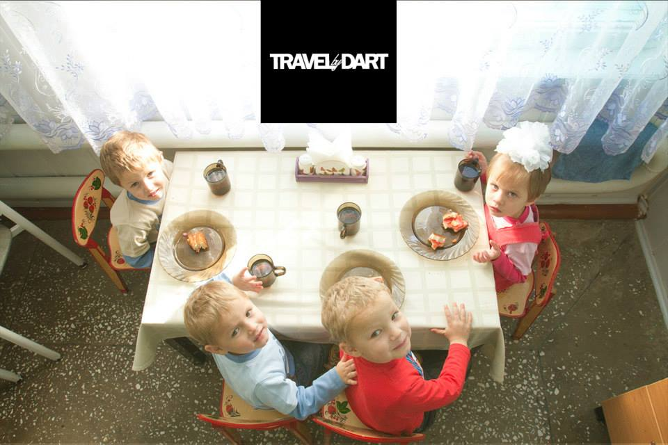 Travel by dart – Russia